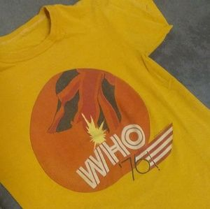 1976 The Who Tour Shirt